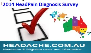 www.headache.com.au Headache survey
