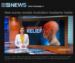 Survey Nine News 31st Jan 2014 P1